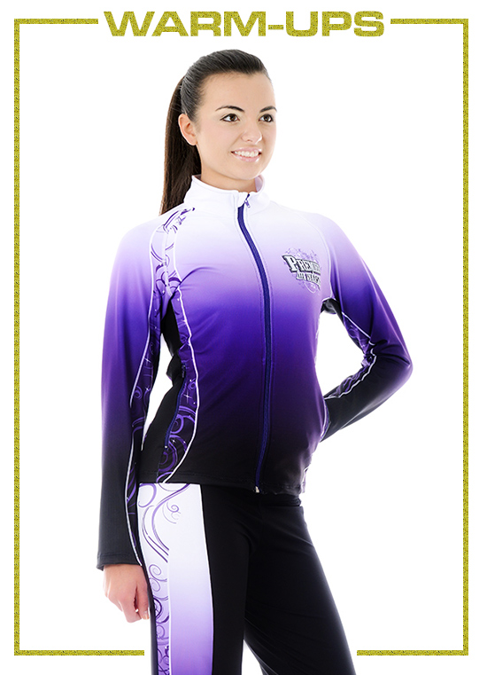 custom cheerleading uniforms, practicewear and warm ups